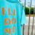 LEGIT Tシャツ【SLOGAN】ミント/オレンジ
