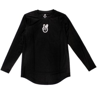 deuce ロングTシャツ【Athletic】ブラック
